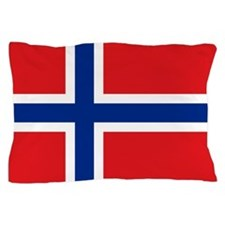 Norway flag Pillow Case