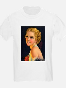 retro vintage girl T-Shirt