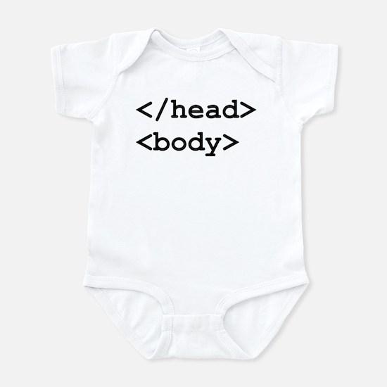 </head> <body> Infant Bodysuit