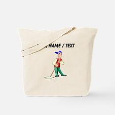 Custom Janitor Tote Bag