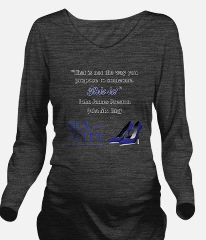 THIS IS! Long Sleeve Maternity T-Shirt