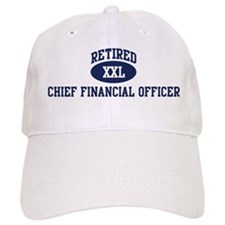 Retired Chief Financial Offic Baseball Cap