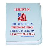 God and guns Blanket