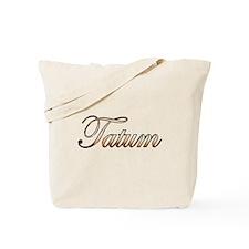Gold Tatum Tote Bag