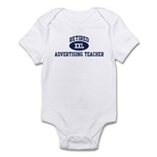 Retired Advertising Teacher Infant Bodysuit