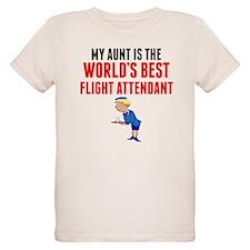 My Aunt Is The Worlds Best Flight Attendant T-Shir
