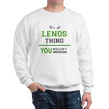Funny Leno Sweatshirt