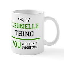 Cute Leonel Mug