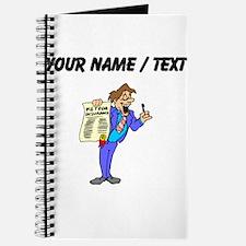 Custom Insurance Salesman Journal