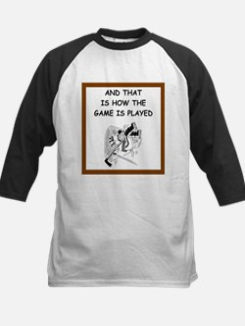 hockey joke Baseball Jersey