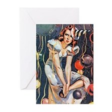 New Year's Eve Greeting Cards (pk Of 20)