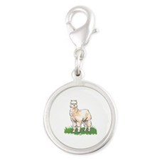 ALPACA IN GRASS Charms