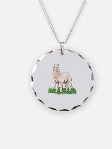 ALPACA IN GRASS Necklace