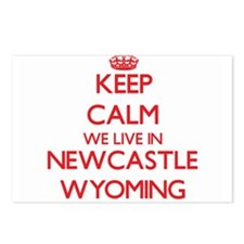 Keep calm we live in Newc Postcards (Package of 8)