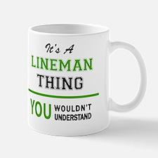 Cute Lineman Mug