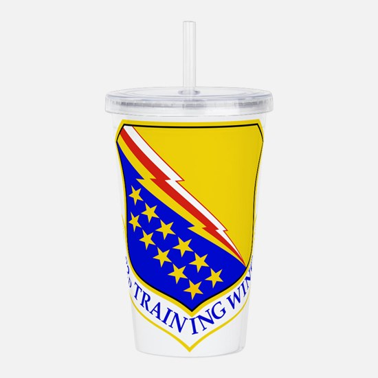 USAF Air Force 82nd Tr Acrylic Double-wall Tumbler