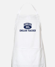 Retired English Teacher BBQ Apron