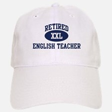 Retired English Teacher Baseball Baseball Cap