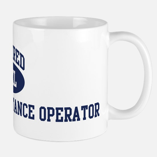 Retired Directory Assistance  Mug