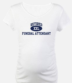 Retired Funeral Attendant Shirt