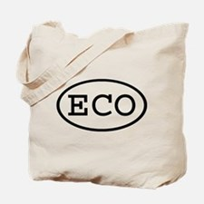 ECO Oval Tote Bag
