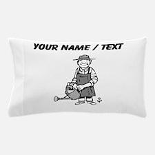 Custom Gardener Pillow Case
