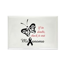 MELANOMA CHECK IT OUT Magnets