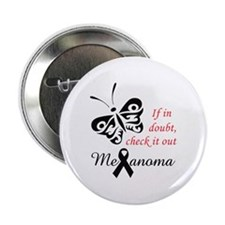 "MELANOMA CHECK IT OUT 2.25"" Button (10 pack)"