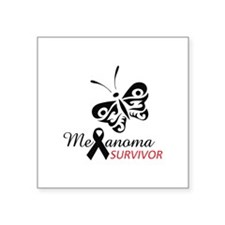 MELANOMA SURVIVOR Sticker
