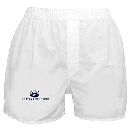 Retired Education Administrat Boxer Shorts
