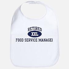 Retired Food Service Manager Bib
