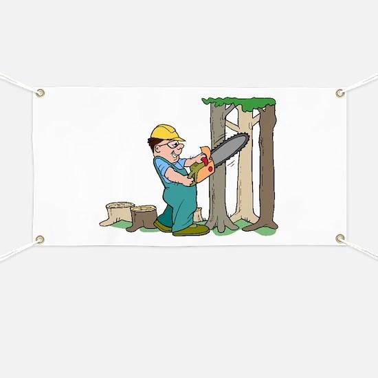 Lumberjack Banner