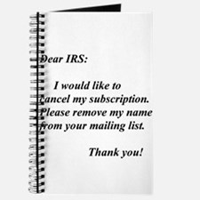 Cute Irs Journal