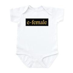 e-female Golden Infant Bodysuit