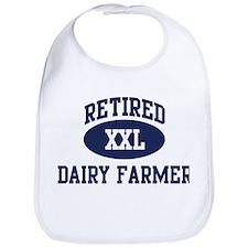 Retired Dairy Farmer Bib