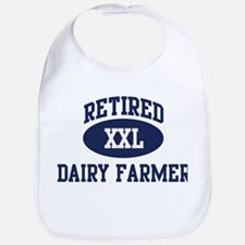 Retired Dairy Farmer Bib