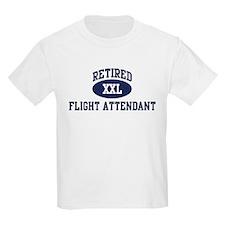 Retired Flight Attendant T-Shirt