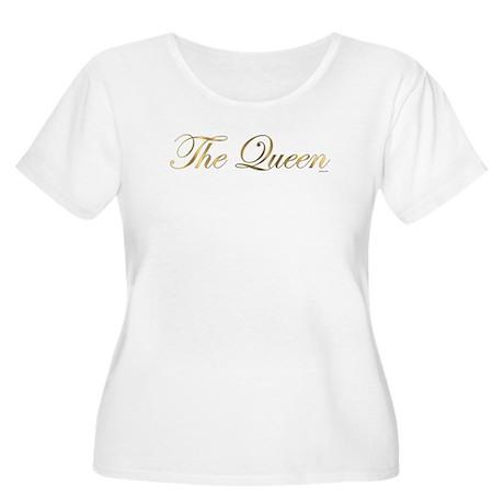 The Queen Women's Plus Size Scoop Neck T-Shirt