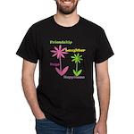 Friendship Flowers Dark T-Shirt