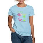 Friendship Flowers Women's Light T-Shirt