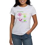 Friendship Flowers Women's T-Shirt
