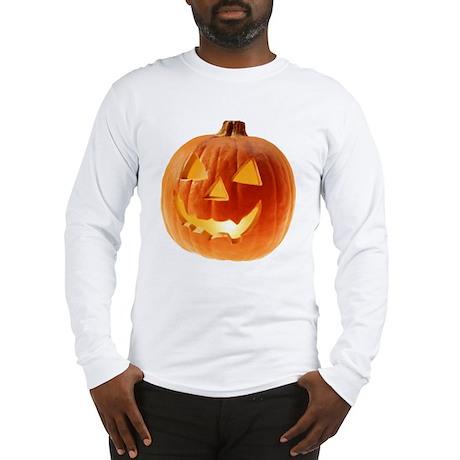 """Pumpkin Meany"" Long Sleeve T-Shirt"