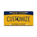 Custom new york License Plates