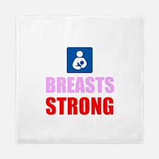 Breasts Strong Queen Duvet