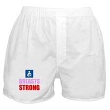 Breasts Strong Boxer Shorts
