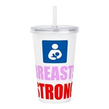 Breasts Strong Acrylic Double-wall Tumbler