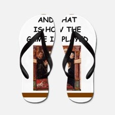 chess joke Flip Flops