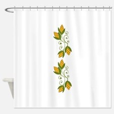 HARVEST CORN BORDER Shower Curtain