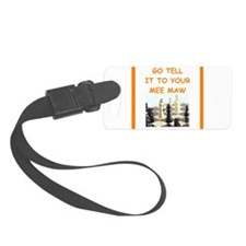 chess joke Luggage Tag