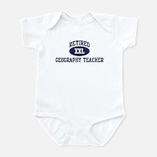 Retired Geography Teacher Infant Bodysuit
